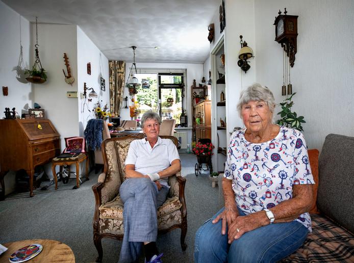 Astrid Rooijackers en haar moeder Bep Starink uit Eindhoven.