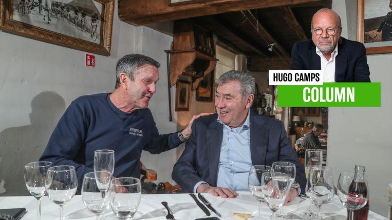 """De Vlaeminck en Merckx gaven een exclusief dubbelinterview aan Het Laatste Nieuws. """"Dat was om meerdere redenen bijzonder"""", vindt onze columnist Hugo Camps."""