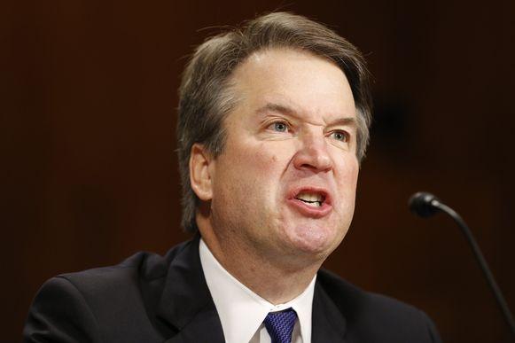 Een bijzonder kwade Brett Kavanaugh kwam gisteren getuigen in de Senaatscommissie Justitie.