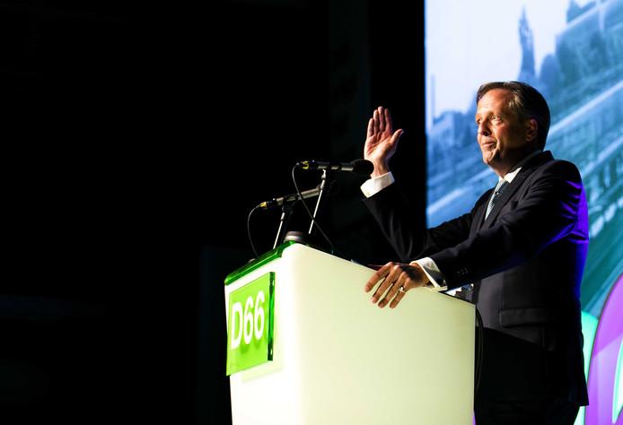 Alexander Pechtold tijdens zijn speech