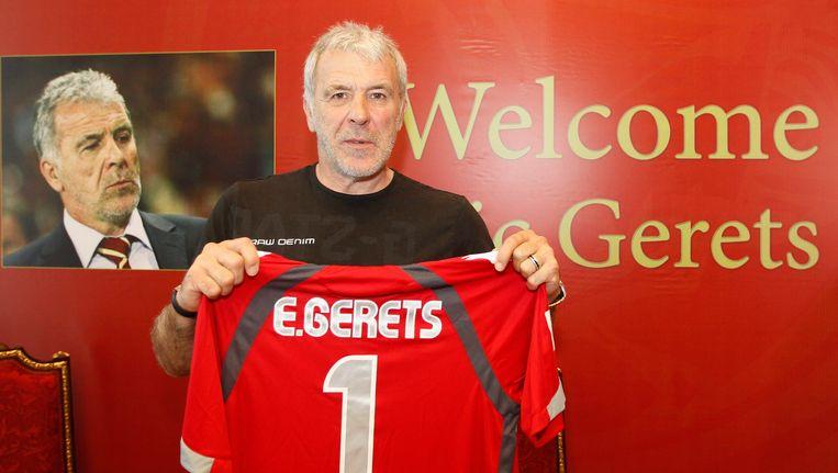 Eric Gerets schermt met andere aanbiedingen maar laat voorlopig nog niet in zijn kaarten kijken.