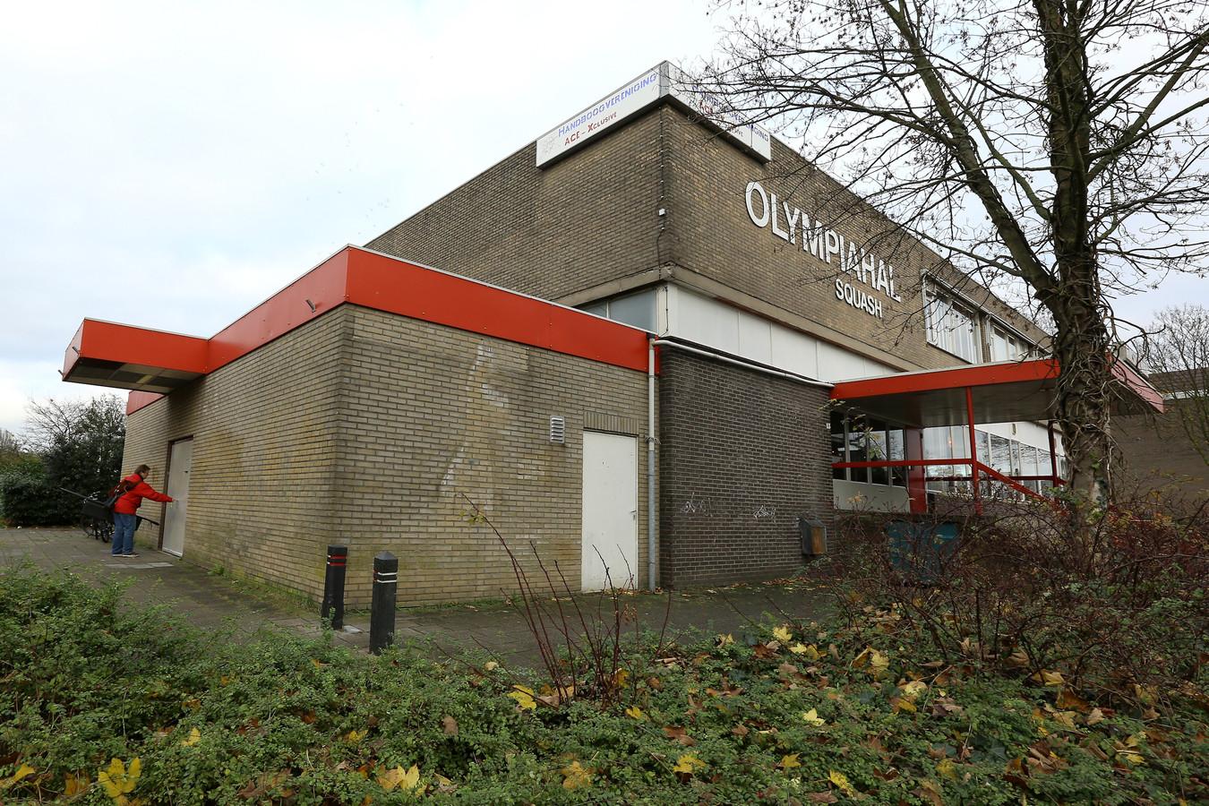 De Olympiahal in Wageningen.