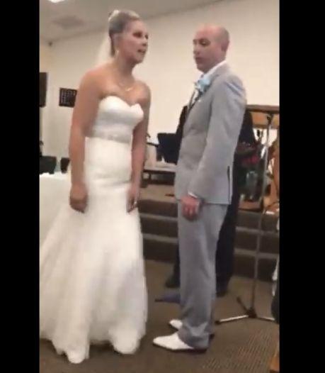 Une belle-mère furieuse ruine le mariage de la mariée en pleine cérémonie