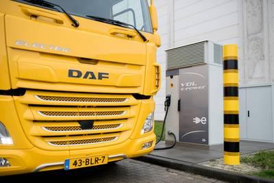 Eerste volledig elektrische truck de weg op
