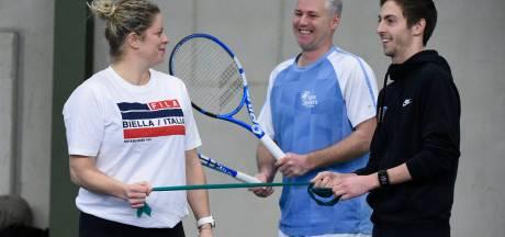 """Kim Clijsters tempère les attentes: """"Gagner un Grand Chelem? Ça me fait rire"""""""