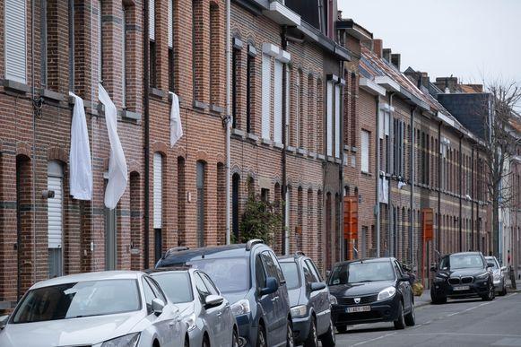 Witte doeken in Mechelen voor de Helden van de Zorg