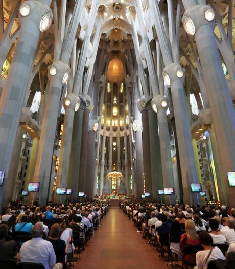 Spaanse koning bij herdenkingsmis slachtoffers in Sagrada Familia