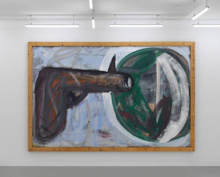 Untitled (Revolver) van Martin Disler. Beeld Gert Jan van Rooij