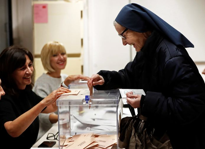 Spanje ging vandaag naar de stembus.