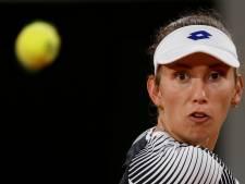 """Elise Mertens, sur sa blessure à l'épaule: """"Le tournoi arrivait un peu trop tôt"""""""