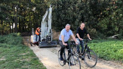 'Missing' link fietspad naar Evere weggewerkt