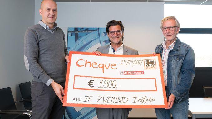 Cuvee Willebroek brengt 1.800 euro op voor 't Dolfijntje