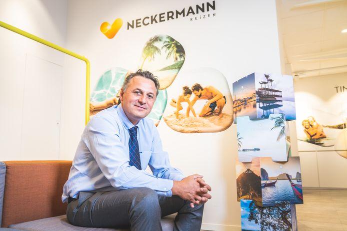 """""""Deze procedure van gerechtelijke reorganisatie geeft ons tijd om de komende maanden in gesprek te gaan met onze schuldeisers en extra financiële middelen te vinden"""", zegt Laurent Allardin, CEO Neckermann."""