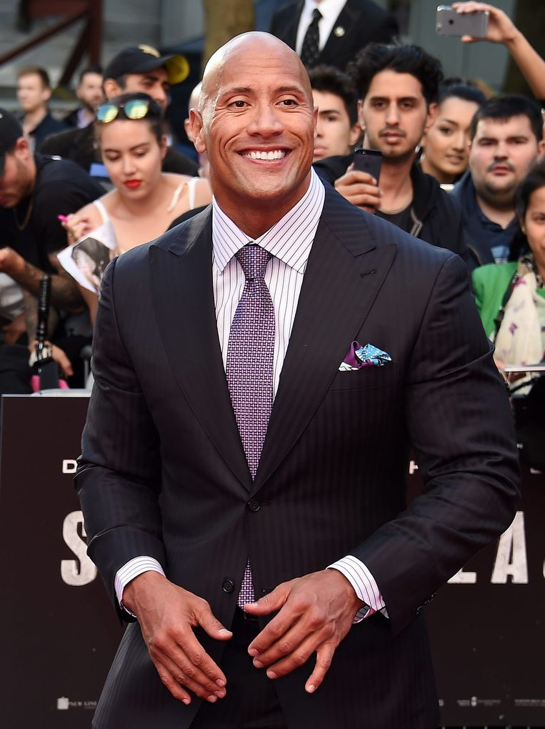 Dwayne - The Rock - Johnson.