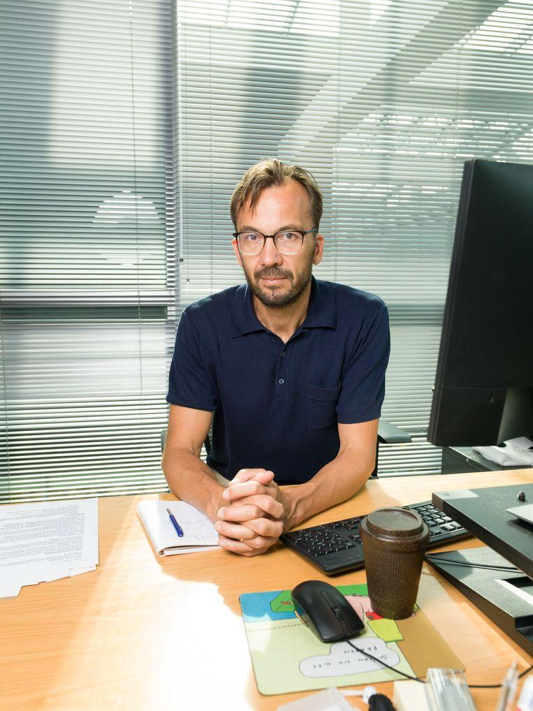 Hoofdredacteur Pieter Klok. Beeld Ivo van der Bent