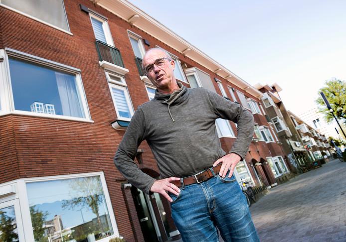 Stedenbouwkundige Paul Kurstjens heeft een plan gemaakt waarin de huurwoningen aan de Croeselaan behouden kunnen blijven.