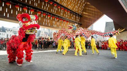 Kou deert toeschouwers Chinese nieuwjaarsparade niet