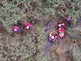 Vermiste man gevonden met behulp van drone