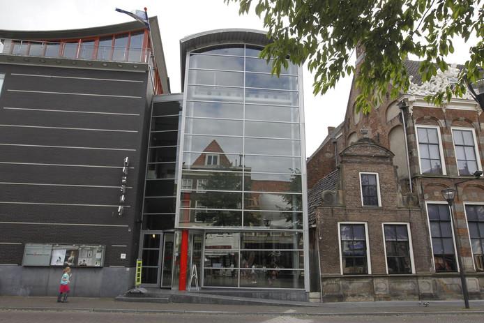 Het Stedelijk Museum aan de Melkmarkt in Zwolle. Foto Sacha Wunderink