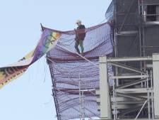 Un activiste environnemental arrêté après avoir escaladé Big Ben