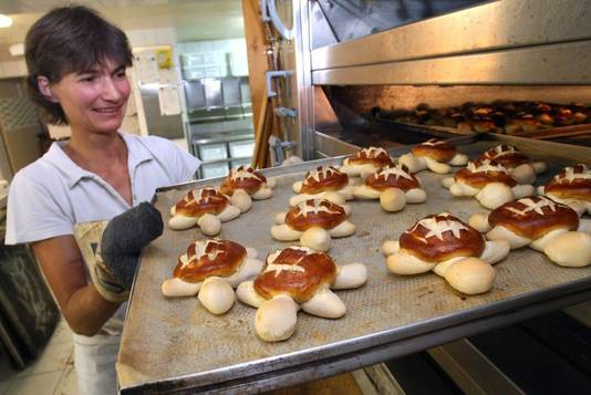 Een bakkerij maakt het beste van Lotti...