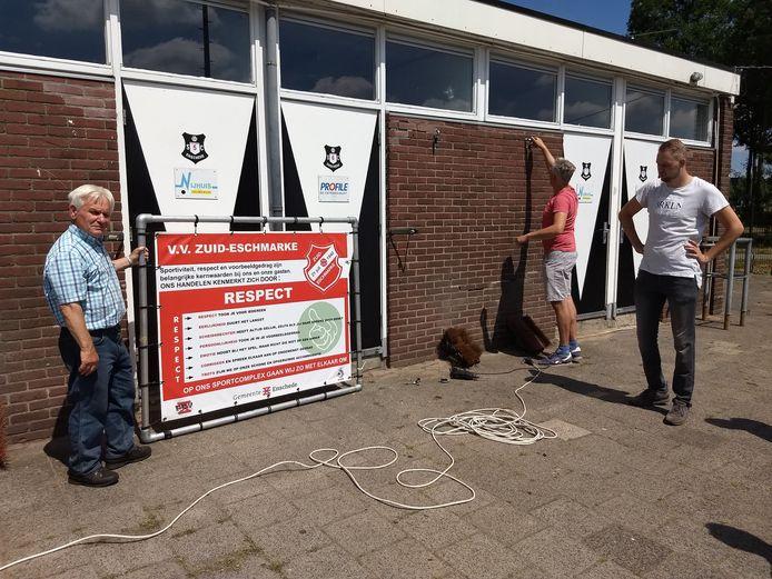 Zuid Eschmarke is verhuisd: nog geen kilometer verderop, naar buurman SC Enschede.