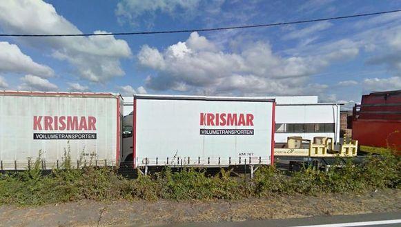 Het transportbedrijf Krismar.