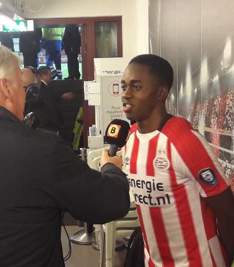 Teze nét geen matchwinner bij Jong PSV: 'Het zat er een beetje aan te komen'