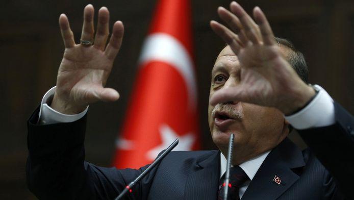 De Turkse premier Erdogan