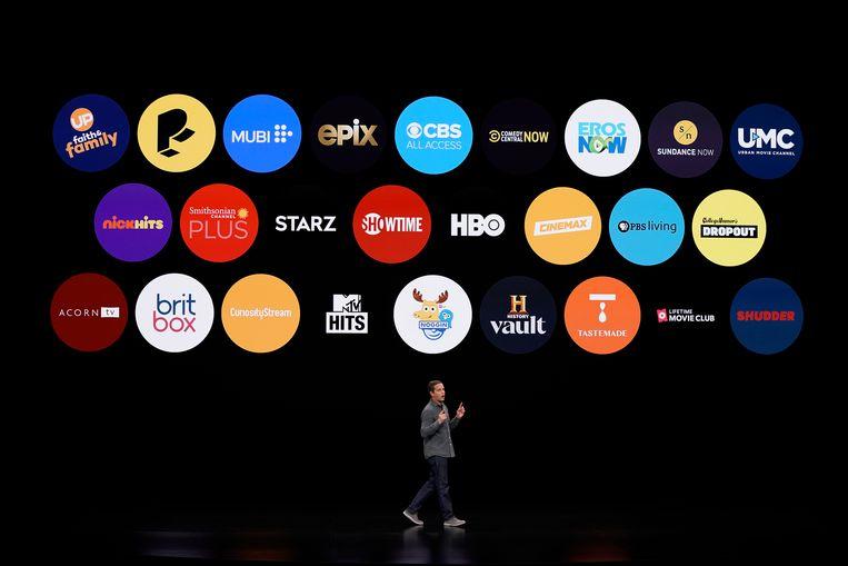Een overzicht van de Apple TV Channels.