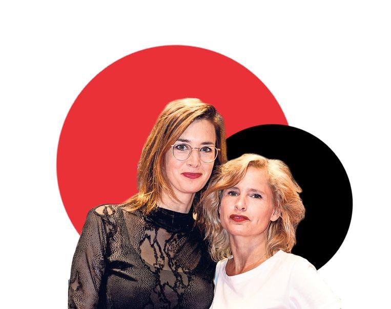 Yora Rienstra (links) en Kirsten Mulder (rechts) Beeld Hollands Hoogte