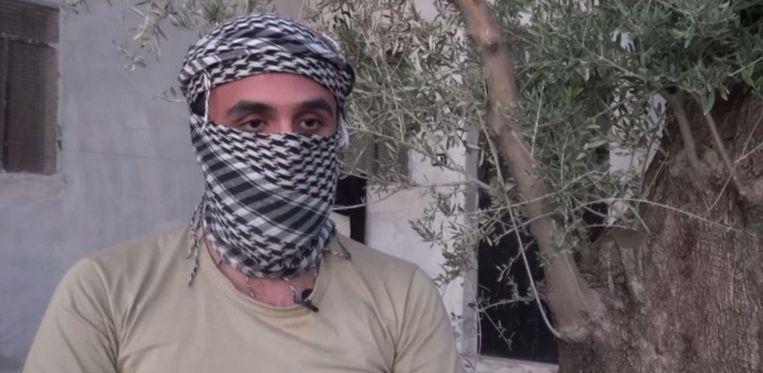 De BBC sprak met een voormalige IS-strijder uit Nederland die graag terug wil keren Beeld BBC