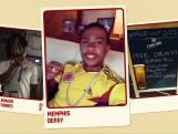 WK bytes: Speler Panama besmeurd met ei en meel