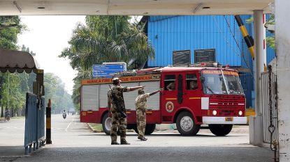 Zeker vijf mensen komen om bij ontploffing op scheepswerf in India