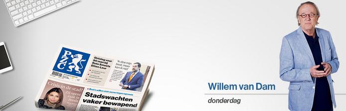 Columnist Willem van Dam