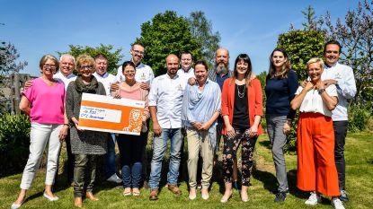 Chefs for Charity overhandigen cheque aan vzw Eindelijk