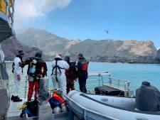 Des plongeurs à la recherche des dernières victimes du volcan en Nouvelle-Zélande