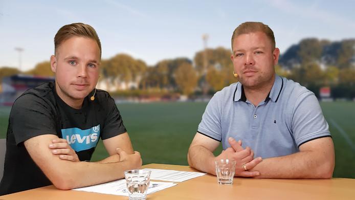 Juriën Dam (links) en Barry van der Hooft.