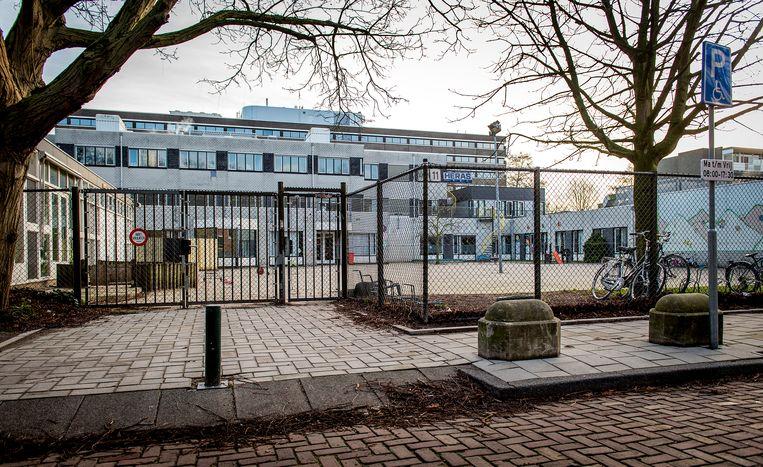 De Amsterdamse joods-orthodoxe school Cheider in Buitenveldert. Beeld ANP