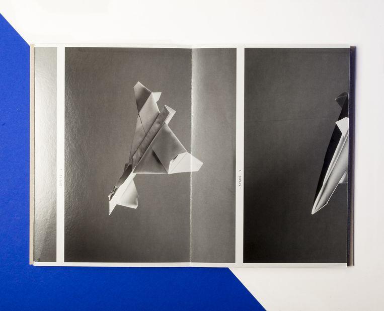 Sjoerd Knibbeler: Paper Planes. Beeld