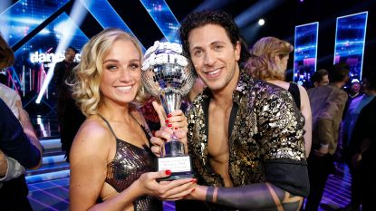 Na de trofee, nu de stage: 'Dancing with the Stars'-winnares Julie Vermeire mag aan de slag bij VIER
