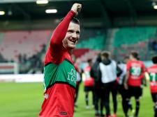 NEC stuntelt zich voorbij Helmond Sport richting een nacompetitieplek