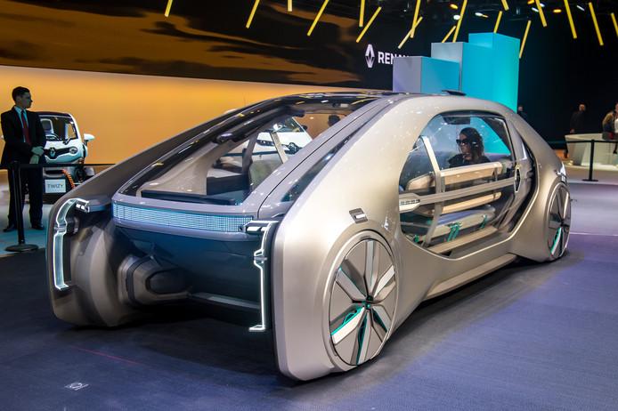 Laat je rijden in de EZ-Go, een futuristisch ontwerp van Renault.