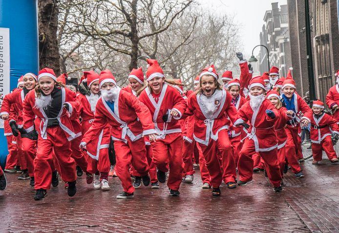 Een Santa Run elders in het land.