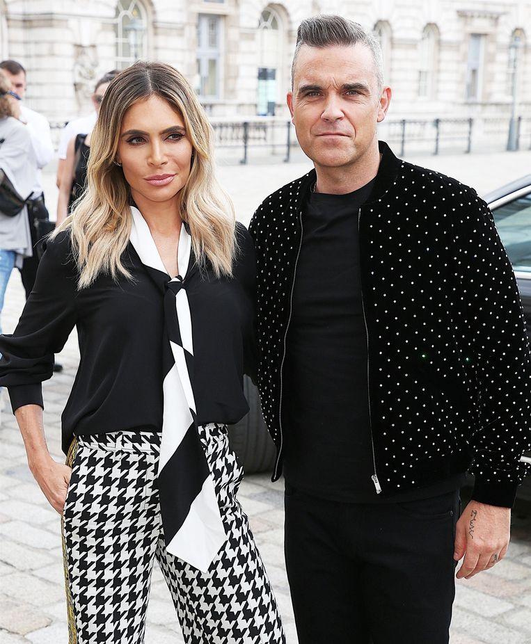 Ayda Field en Robbie Williams zijn opnieuw ouders geworden.