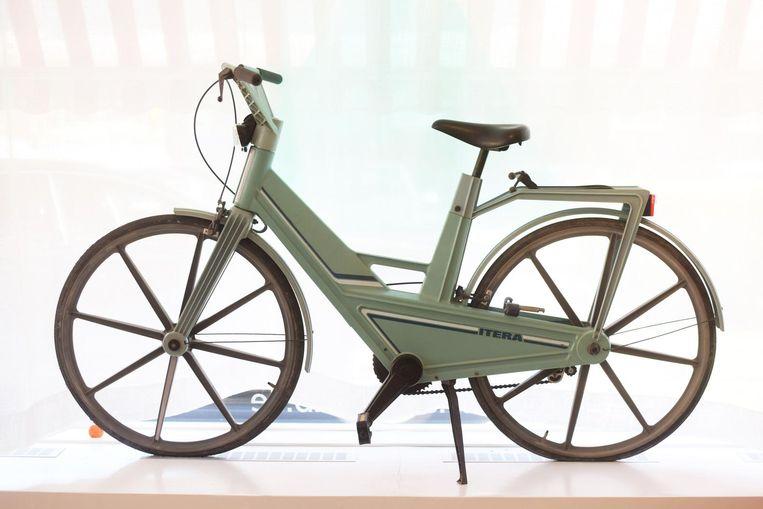 Plastic fiets Itera Beeld Sofie Lindberg