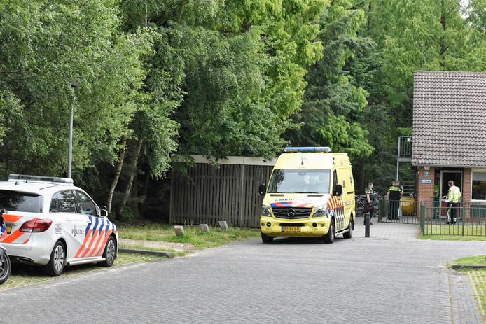 Steekpartij bij het azc in Oisterwijk.