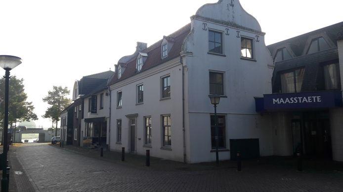 Het pand in de Cuijkse Maasstraat.