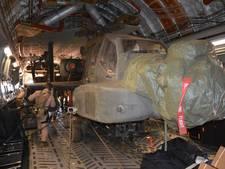 Laatste apaches uit Mali weer terug op vliegbasis Gilze-Rijen