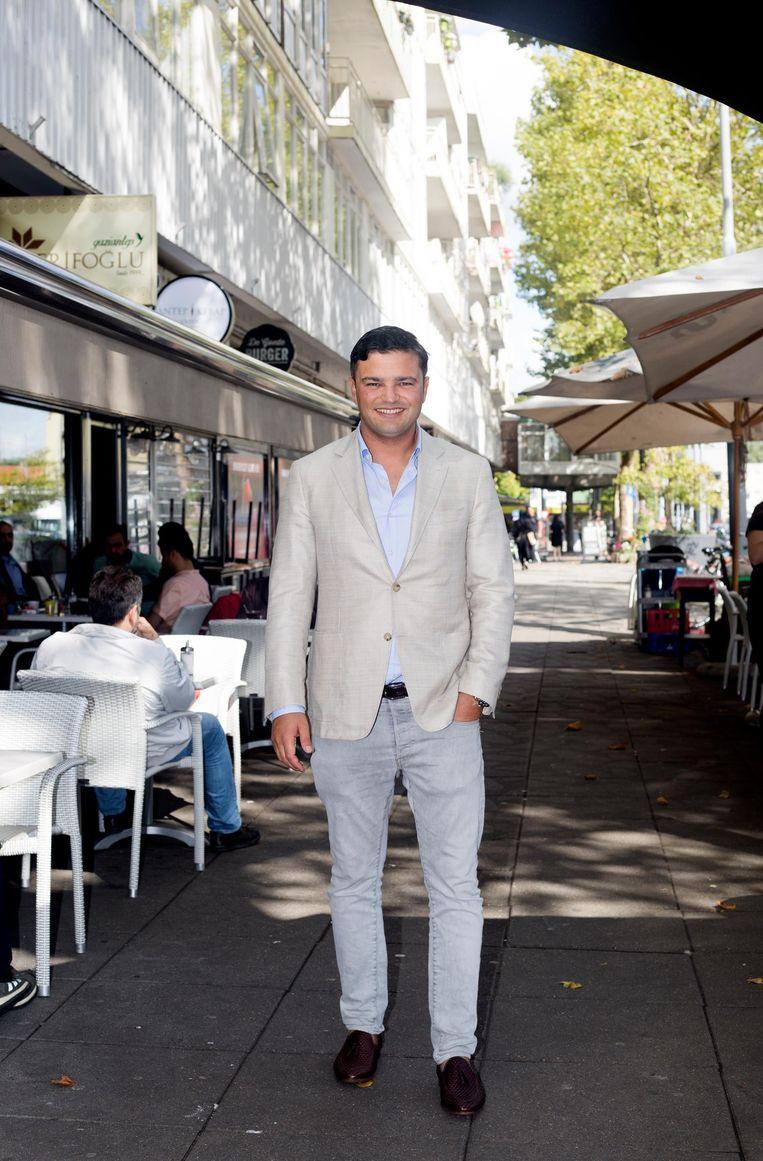 Ahmet Can, onder meer voorzitter van de ondernemersvereniging Beeld Sanne Zurné